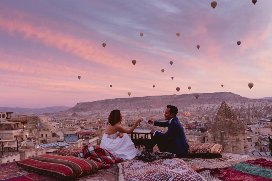 Cappadocia Wedding Photo Package Goreme Fairy Land